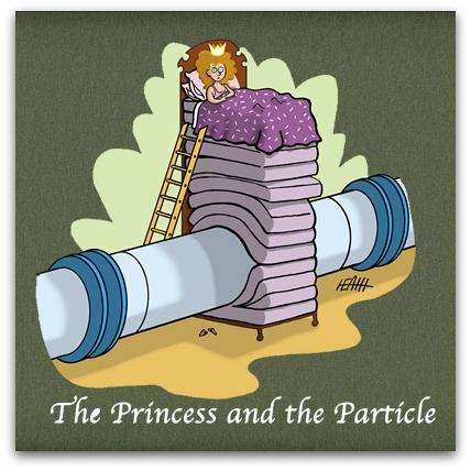 The Princess and the Particle, nobrow cartoons, Mark Heath