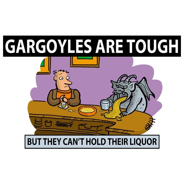 Gargoyles Are Tough