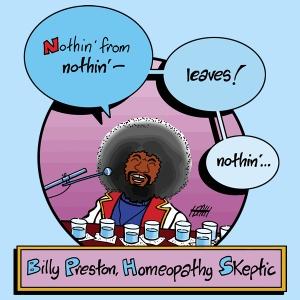 Billy Preston Homeopathy tshirt