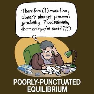 poorly punctuated equilibrium